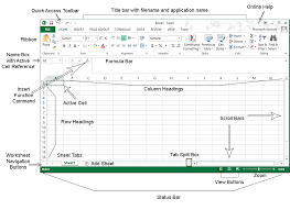 excel chapter 1 creating a worksheet and a chart objectives
