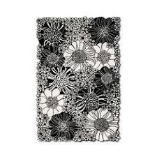 Black And White Floor Rug Black U0026 White Chevron Rug 2 U20329 U2033 5 U2032 3 250 Uah Liked On