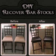 How To Reupholster A Bar Stool Used Bar Stools Foter