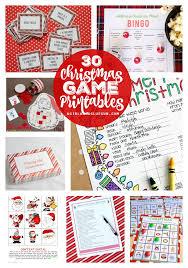 free printable christmas song lyric games christmas charades game and free printable roundup a girl and a