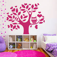 compare prices on funny owls online shopping buy low price funny 1 3 m love tree owl wall decals kids nursery art vinyl mural bedroom wall stickers carved