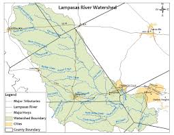 Killeen Texas Map Water Quality Training On March 28 Will Focus On The Lampasas