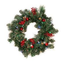 w24 new splendi cordless wreath photo