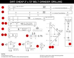 diy knifemaker u0027s info center dirt cheap 2 x 72 belt grinder build