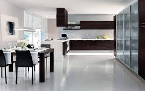 Espresso Cabinets Kitchen Kitchen Style Modern Design Middle Class Family Modern Kitchen