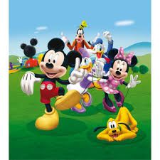 house wallpaper mickey his friends house wallpaper xl great kidsbedrooms the