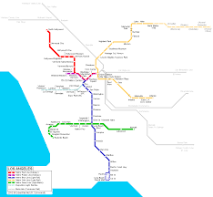 Metro In Dc Map by Los Angeles Subway Map For Download Metro In Los Angeles High