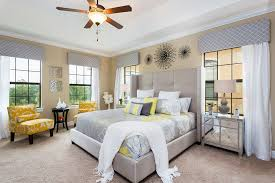 ceiling fan crown molding waverly curtains bedroom contemporary with beige wall ceiling fan