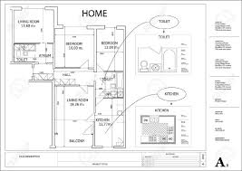 draw a house plan uncategorized how to draw a simple house plan exceptional in