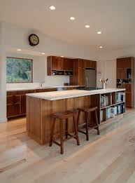 Design For Kitchen Cabinet Decorating Cool Wooden Kitchen Cabinet In Brown Made With Kerf