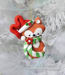 handcrafted polymer clay ornament by miller at my joyful moments