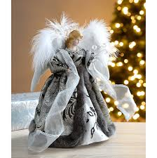 werchristmas angel decoration christmas tree top topper with