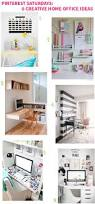 6 creative home office way home resort pinterest saturdays 6 creative home office ideas on style for a happy home