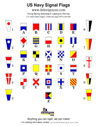 Nautical Code Flags Nautical Decor U2013 Ib Designs Usa Blog