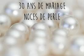 noces de mariages mariage 30 ans de mariage noces de