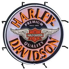 harley davidson lighted signs neon signs harley davidson ace branded products