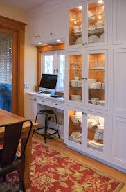 ShallowkitchencabinetsHomeOfficeTransitionalwithnone - Kitchen cabinets for home office
