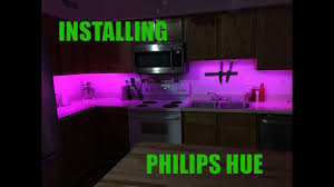 Hue Strip Lights Installing The Philips Hue Youtube
