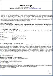 Resume Text Text Resume Format Resume Format Examples For Students College