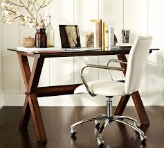 Potterybarn by Ava Wood Desk Espresso Stain Pottery Barn Australia Home