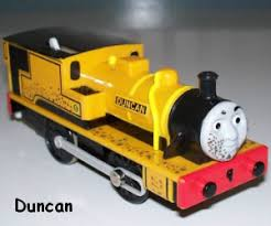 thomas friends duncan narrow guage engine character guide