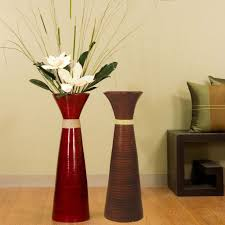 vases design ideas gorgeous tall red glass vase red glass floor