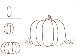 halloween candy background drawn learn to draw for kids halloween pumpkin drawing tutorial how