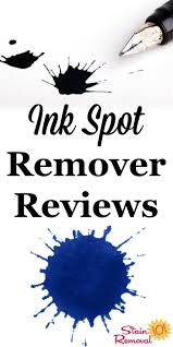 Best Clothing Stain Remover Ink Spot Remover And Ink Stain Removers Reviews