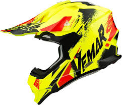 junior motocross helmets vemar taku sketch motocross helmet sale motorcycle helmets yellow