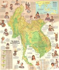 North Asia Map by On The Other Side Of The Eye Speculative Southeast Asian Geography