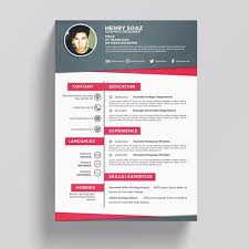 creative resume template creative resume template template for free on pngtree