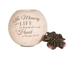 memorial candle sympathy gifts the comfort company sympathy candles