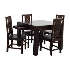55 off balinese teak dining table set tables