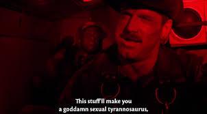 Sexual Tyrannosaurus Meme - this stuff ll make you a goddamn sexual tyranasaurus album on