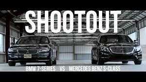 mercedes c class vs s class shootout bmw 7 series vs mercedes s class roadshow
