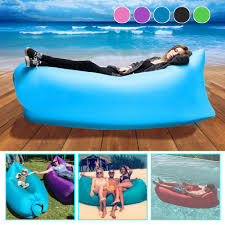 Cheap Blow Up Beds Portable Sofa Chill Lazy Sofa Fast Inflatable Air Sleeping Bag