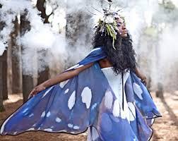 Blue Butterfly Halloween Costume Blue Butterfly Cape Monarch Cloak Dance Wings Costume Short