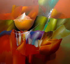 arie koning colorful flowerpaintings colorful modern abstract