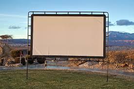 projection screens amazon com amazon com camp chef os92l portable outdoor movie screen 92 inch