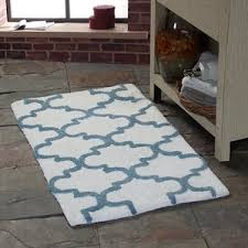 blue bath rugs u0026 mats you u0027ll love wayfair