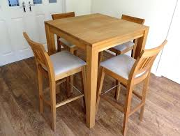 Oak Bar Table Narrow Bar Table Interesting Solid Wood Top Restaurant