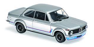 bmw 2002 model car minichs maxichamps 1 43 bmw 2002 turbo 1973 silver