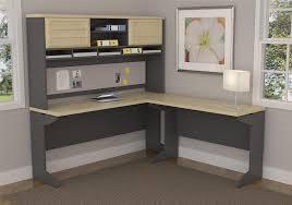 Computer Corner Desk With Hutch by Amazon Com Altra Pursuit L Shaped Desk With Hutch Bundle Natural