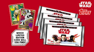 wars cards topps is releasing a brand new trading card collection journey to
