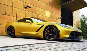 corvette stingray gold geiger chevrolet corvette stingray