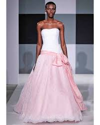 pink wedding dresses spring 2013 bridal fashion week martha
