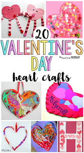 20 valentine u0027s day heart crafts for kids proud to be primary