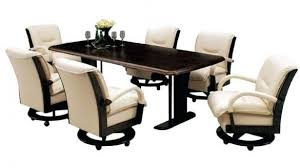 rolling dining room chairs rolling dining room chairs with casters foter 0 bmorebiostat com