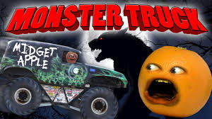 annoying orange monster truck parody youtube