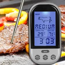 termometre cuisine wireless digital bbq thermometer kitchen oven food cooking grill